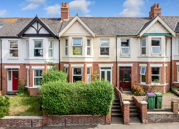 Thumbnail 3 bed terraced house for sale in Ashley Avenue, Folkestone