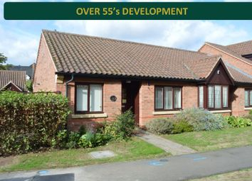 Thumbnail 2 bed bungalow for sale in Honeywell Close, Oadby, Leicester
