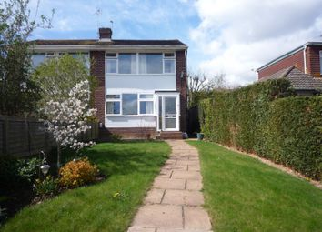 Thumbnail 3 bed semi-detached house to rent in Nicholas Crescent, Fareham