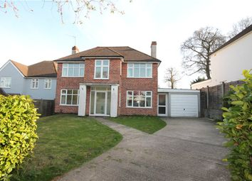 Thumbnail 4 bed detached house to rent in Downs Wood, Epsom