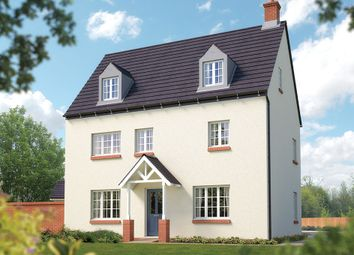 "Thumbnail 5 bed detached house for sale in ""The Charlcote"" at Towcester Road, Silverstone, Towcester"