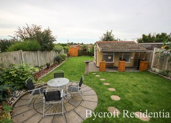 Thumbnail 3 bed detached bungalow for sale in Drift Road, Caister-On-Sea, Great Yarmouth