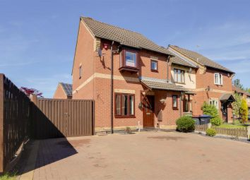 Thumbnail 3 bed town house for sale in Leen Valley Way, Hucknall, Nottinghamshire