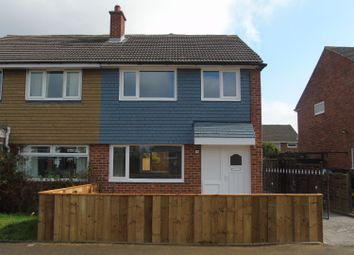 Thumbnail 3 bed semi-detached house for sale in Mitford Crescent, Stockton-On-Tees