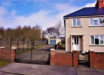 Thumbnail 3 bed semi-detached house for sale in Lansbury Road, Ebbw Vale