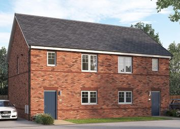"Thumbnail 3 bed semi-detached house for sale in ""The Queensbridge"" at William Nadin Way, Swadlincote"
