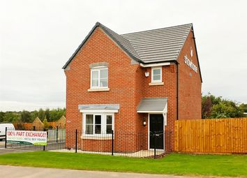 "Thumbnail 3 bedroom detached house for sale in ""The Hatfield"" at Upton Drive, Off Princess Way, Burton Upon Trent"