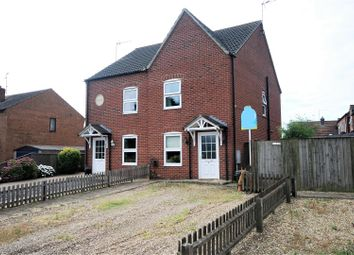 Thumbnail 2 bed semi-detached house for sale in Northgate, Pinchbeck, Spalding