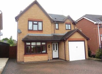 Thumbnail 4 bedroom detached house for sale in Gainsborough Avenue, Hinckley