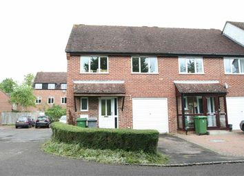 Thumbnail 3 bed semi-detached house to rent in Saffron Close, Newbury