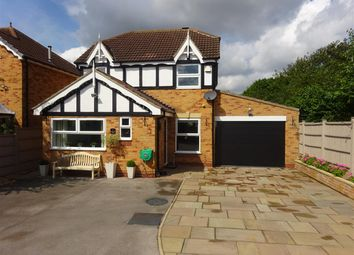 Thumbnail 3 bed detached house for sale in Wellesley Close, Clifton Moor, York