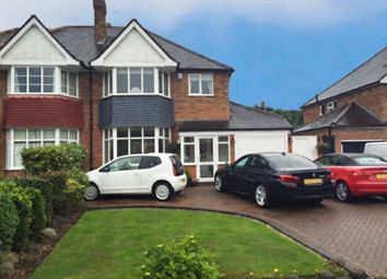 Thumbnail 3 bed semi-detached house for sale in Netherwood Close, Solihull