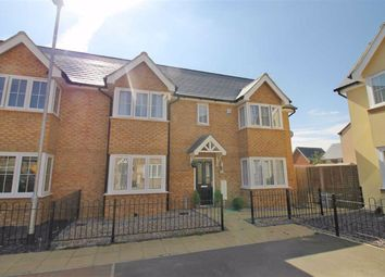 Thumbnail 3 bed semi-detached house to rent in Hereford Way, Whitehouse Park, Milton Keynes