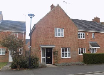Thumbnail 3 bedroom end terrace house for sale in Southwold Close, Swindon