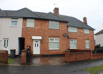 Thumbnail 3 bedroom town house for sale in Waltham Avenue, Leicester