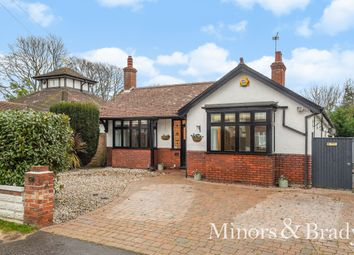 Thumbnail 3 bed detached bungalow for sale in Middleton Road, Gorleston, Great Yarmouth