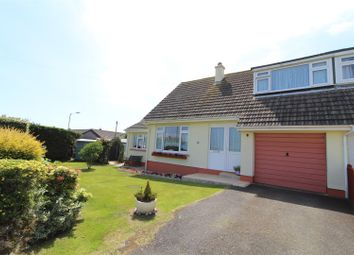 Thumbnail 3 bed semi-detached bungalow for sale in Gwealdues, Helston