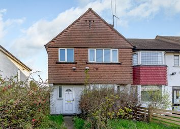 Thumbnail 3 bed end terrace house for sale in East Rochester Way, Sidcup, London