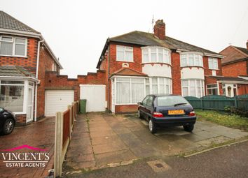Thumbnail 3 bed semi-detached house for sale in Turnbull Drive, Braunstone Town, Leicester