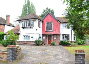 Thumbnail 4 bed detached house to rent in Bourne End Road, Northwood