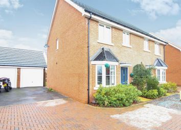 Thumbnail 3 bed semi-detached house for sale in Magnolia Way, West Cheshunt, Herts