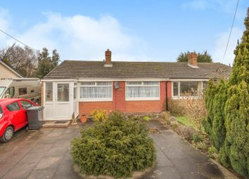 Thumbnail 2 bed semi-detached bungalow for sale in Deepmore Close, Alrewas, Burton-On-Trent