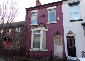 Thumbnail 2 bed end terrace house for sale in Rickman Street, Kirkdale, Liverpool, Merseyside