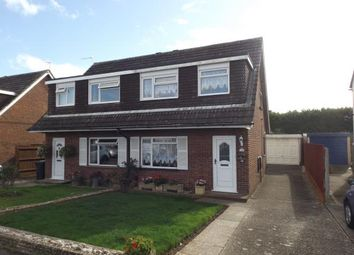 Thumbnail 3 Bed Semi Detached House For Sale In Throop Bournemouth Dorset