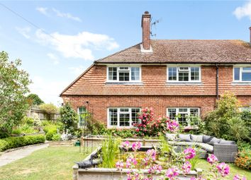Thumbnail 3 bed semi-detached house for sale in Upper Green Lane, Shipbourne, Tonbridge