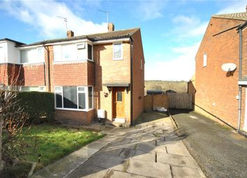 Thumbnail 3 bed semi-detached house for sale in Moseley Wood Gardens, Cookridge, Leeds, West Yorkshire