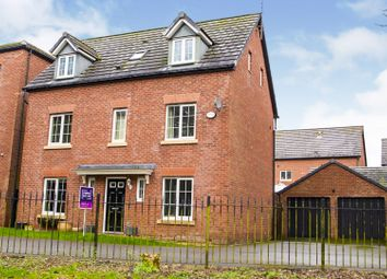 Thumbnail 5 bed detached house for sale in Howards Field, Wrexham