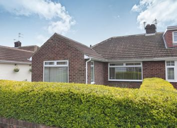 Thumbnail 2 bed semi-detached bungalow for sale in Honiton Way, Hartlepool