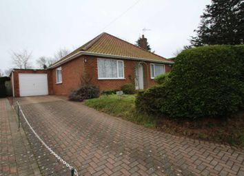 Thumbnail 3 bed bungalow for sale in Church Road, Upton, Norwich