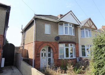 Thumbnail 2 bedroom semi-detached house for sale in Church Walk North, Swindon