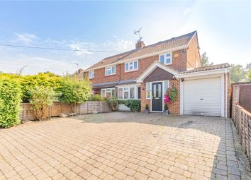Thumbnail 4 bed semi-detached house for sale in Church Road, Sandhurst, Berkshire