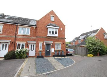 Thumbnail 4 bed end terrace house to rent in Derisley Close, Byfleet, West Byfleet