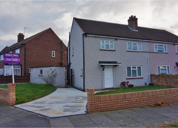 Thumbnail 3 bedroom semi-detached house for sale in New Zealand Way, Rainham