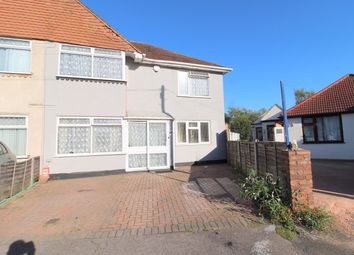 Thumbnail 5 bed semi-detached house for sale in Harrow Road, Ashford/Bedfont Boarders