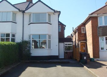 Thumbnail 3 bed semi-detached house for sale in Durley Dean Road, Selly Oak