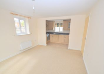 Thumbnail 2 bed flat to rent in Reedmace Walk, Newcastle, Staffs