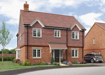 "Thumbnail 4 bed detached house for sale in ""Wells"" at Anstey Road, Alton"