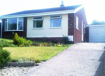 Thumbnail 4 bed detached bungalow to rent in Hill View, Bryn Y Baal, Mold, Flintshire