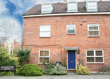 Thumbnail 4 bed town house to rent in Calcutt Way, Dickens Heath, Solihull, West Midlands