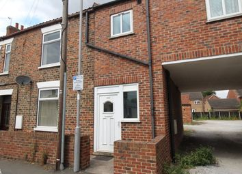 Thumbnail 2 bed flat to rent in Flatgate, Howden, Goole