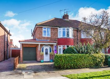 Thumbnail 3 bed semi-detached house for sale in Cranbrook Road, York