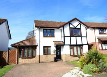 Thumbnail 4 bed detached house for sale in Ruskin Avenue, Rogerstone, Newport