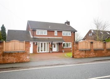 Thumbnail 4 bed detached house to rent in Newton Road, Lowton, Warrington