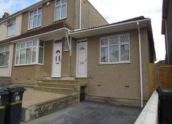 Thumbnail 1 bedroom flat to rent in Sandling Avenue, Horfield, Bristol
