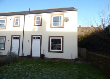 Thumbnail 2 bed end terrace house for sale in St. Cuthberts Close, Burnfoot, Wigton