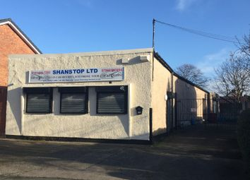 Thumbnail Light industrial for sale in Dinas Lane, Liverpool